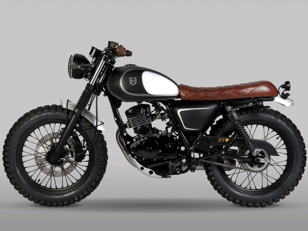 Új 125 ccm motor